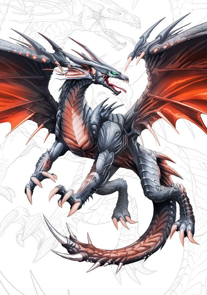 Saludos ! Funcionando la lista de correos!!! Suscríbete y recibe correos, avisos, novedades, imágenes de regalo ----- Dragon negro de alas rojas y ojos color esmeralda tirando pa verde claro!!!! Es...