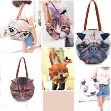 Женское ретро комикс животные сумки Cat форма женщины сумочка наплечная сумка разработанный(China (Mainland))