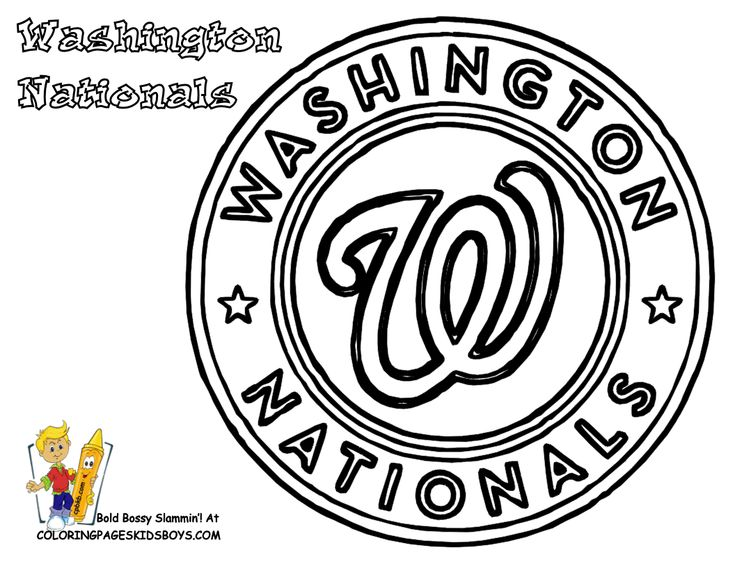 32 best Baseball Coloring pages images on Pinterest | Cumpleaños de ...