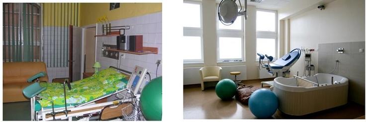 Sala Porodowa - zakończenie remontu 2012 rok