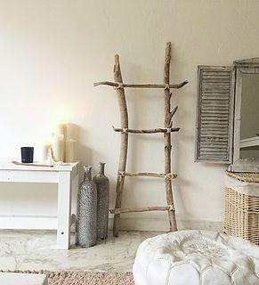 Les 25 meilleures id es de la cat gorie bois flott sur pinterest d cor de - Decoration interieur bois naturel ...