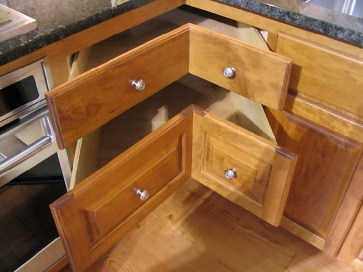 Great A Corner Kitchen Cabinet Can Make Cooking Preparations Much Easier. Before  Setting One Up, Understanding Facts About Corner Kitchen Cabinet Sizes Is  ...