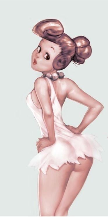 Racy Cartoon Characters - Wilma