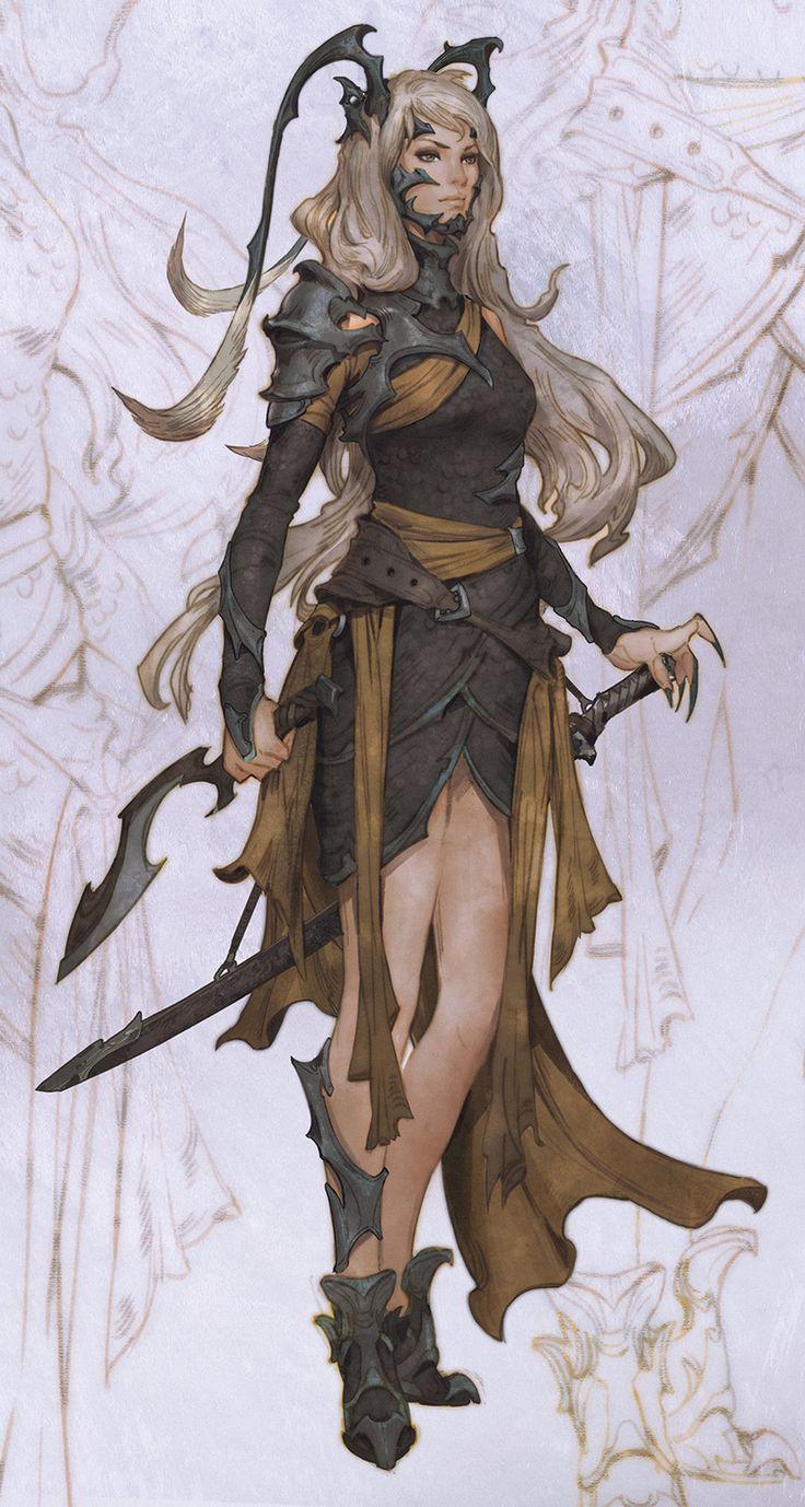 Warrior 2, Dummi Plug on ArtStation at https://www.artstation.com/artwork/B64OA