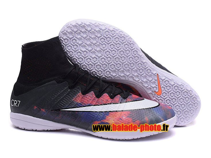 2015 Chaussures de football Nike Mercurial Superfly Lava CR7 IC Indoor 5818