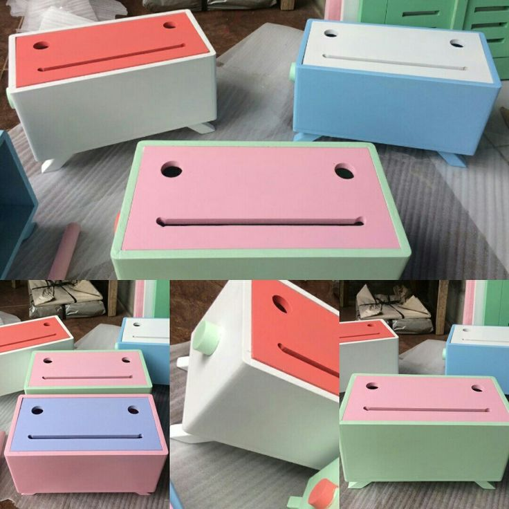 Smile box tisue shaby chick
