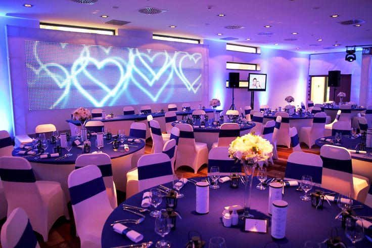 Esküvői vacsora helyszín Nautis terem