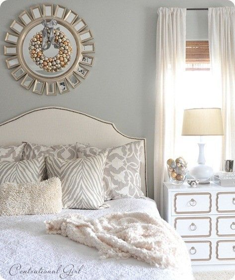 Beautiful grey bedroom beautiful bedrooms pinterest for Pictures of beautiful guest bedrooms