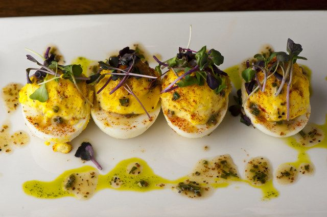Gourmet Deviled Eggs | Deviled eggs -- image courtesy of Sullivan's