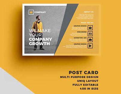 17 Best ideas about Business Postcards on Pinterest | Postcard ...