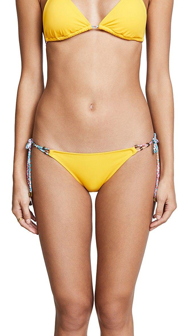Heidi Klum Sun Muse Tie Side Bikini Bottoms | SHOPBOP