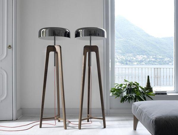 die besten 25 moderne stehlampen ideen auf pinterest. Black Bedroom Furniture Sets. Home Design Ideas