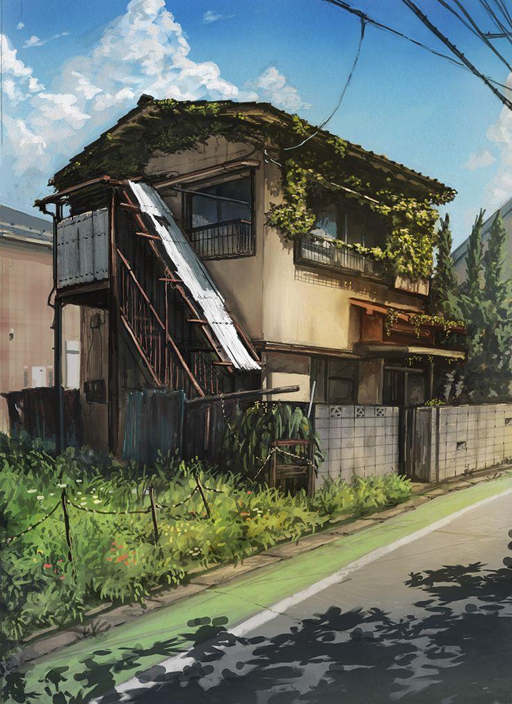 ArtStation - beautiful ruin, Satoshi Takahara