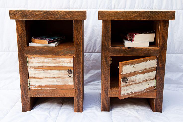 Rustic Bedside Tables