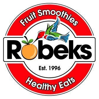 Robeks P-Nut power shake is made with a scoop of powder, ice, 1/2 cup non-fat milk, 1/4 peanut butter, one banana and 1/2 cup non-fat yogurt. Add ingredients to a blender and blend until smooth.