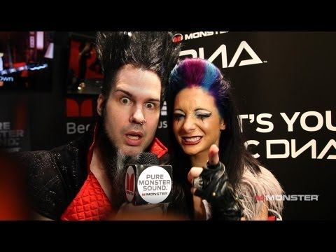 NAMM 13:  Metal Monsters Wayne Static & Tera Wray