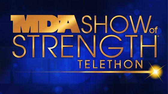 MDA Show of Strength Telethon Logo