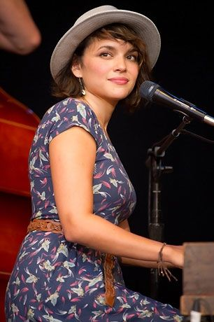 Norah Jones <3 | Greatest musician of all time.   What did you say? I know I saw you singing But my ears won't stop ringing Long enough to hear those sweet words What did you say?  Norah Jones - Those Sweet Words