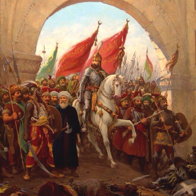 Istanbulun fetihi 1453 (Fatih Sultan Mehmet)