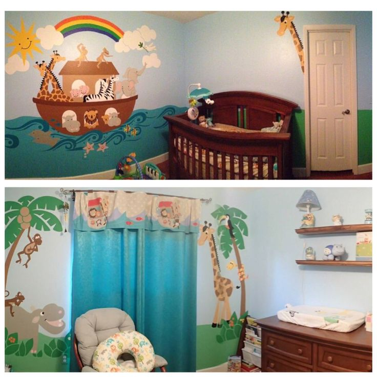 The 25 best noahs ark nursery ideas on pinterest for Noah s ark decorations
