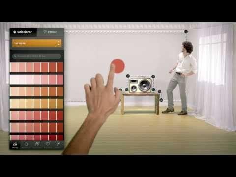 Simule as cores do ambiente que você deseja mudar em casa e compre suas tintas na Darka.