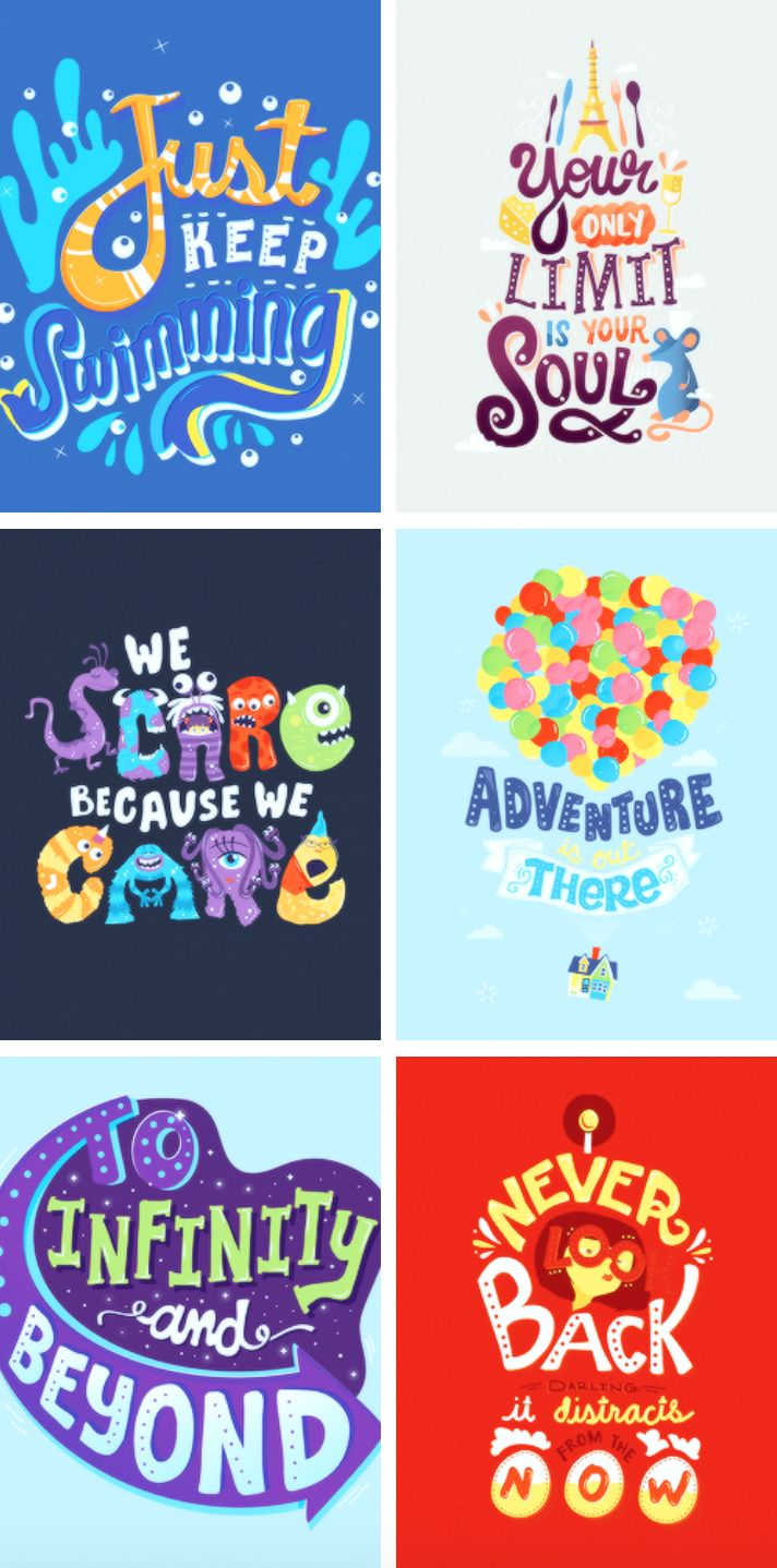Disney movie art