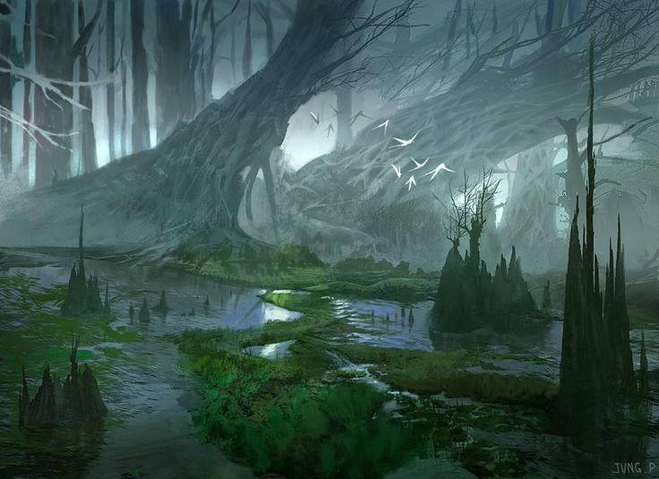 Forest by jungpark on deviantART via PinCG.com                                                                                                                                                                                 More