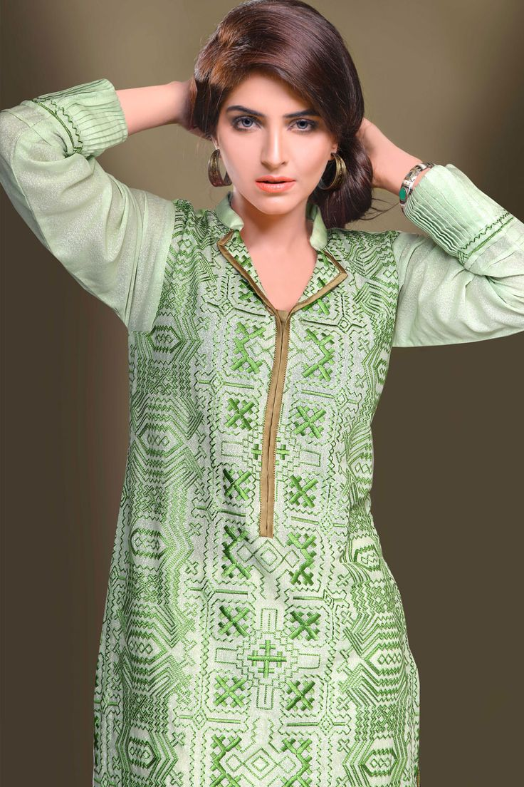 "Product code: VRV-0718-LD JUST TOP KARANDI ""SHIRT FRONT FULLY EMBROIDED + SHIRT BACK DIGITAL PRINT PRICE PKR 4,800 http://nimsay.pk/pkr/home/135-verve-ready-to-wear-vrv-0718-ld.html Shop Online www.nimsay.pk"