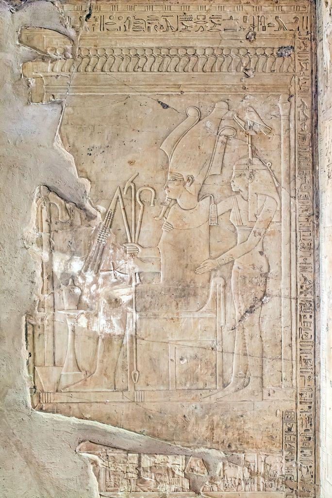 M20081120 255 Egypte Pharaon Necropole Et Sculpture