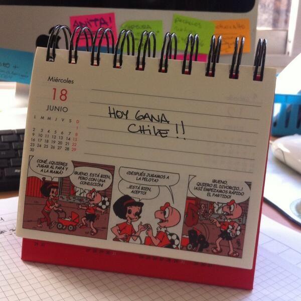 Mi calendario lo sabía www.tiendacondorito.com