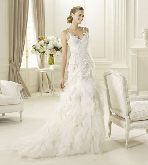 lace wedding dresses ideas Celebrity Wedding Dresses 2013