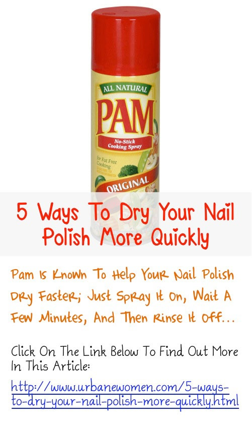 Nail Polish Dry: 5 Tips for the Wait