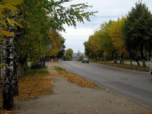 Улицы  города-City of Serdobsk of the Penza region