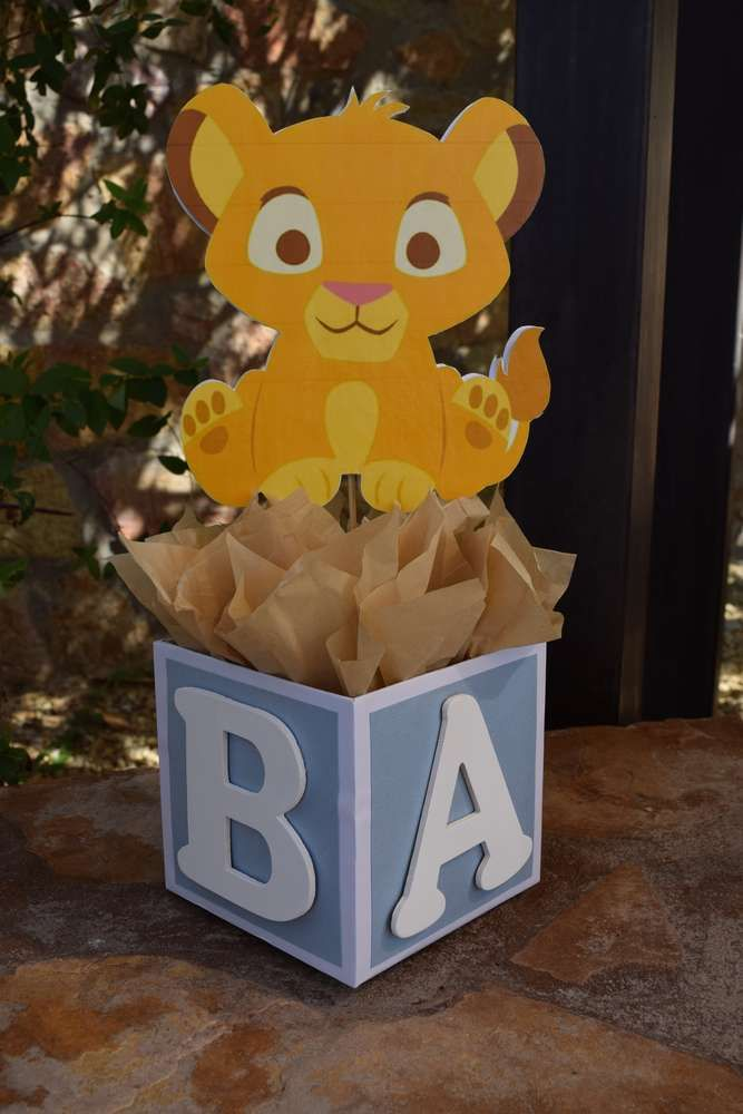 Baby Lion King Baby Shower Party Ideas | Photo 1 of 29 | Catch My Party