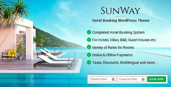 Sunway is a vacation rental WordPress theme crafted to ...