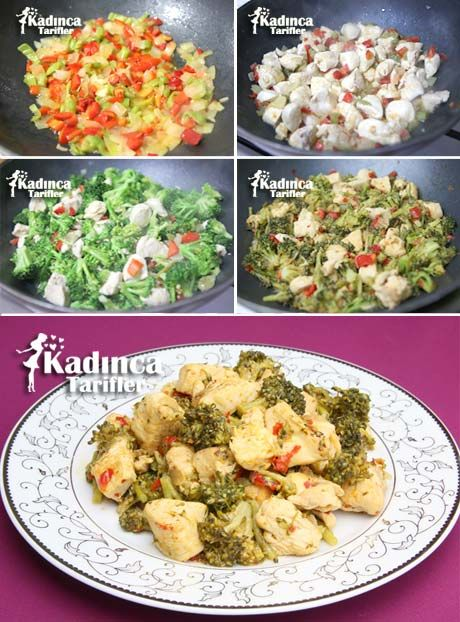 Brokolili Tavuk Sote Tarifi