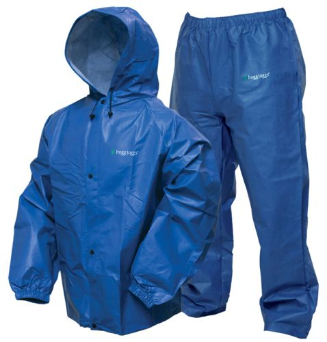 Jacket and Pants Sets 179981: Frogg Toggs Pro Lite Rain Suit | Royal Blue | Sm Md -> BUY IT NOW ONLY: $35.95 on eBay!