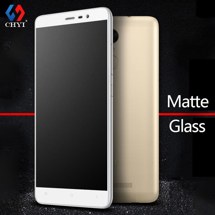 9H Frosted Tempered Glass For XiaoMi RedMi Note 3 pro Note3 5.5inch Screen Protector CHYI No Fingerprint Matte Glass Protective