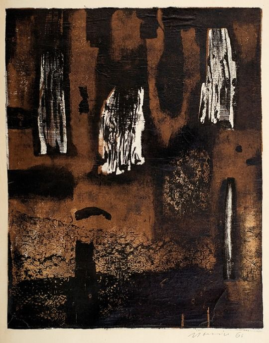 Objects - Jan Tarasin . 1963 (colour lithography, paper)
