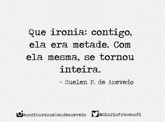 Suelen P. de Azevedo (@diariofrasesofi)   Twitter