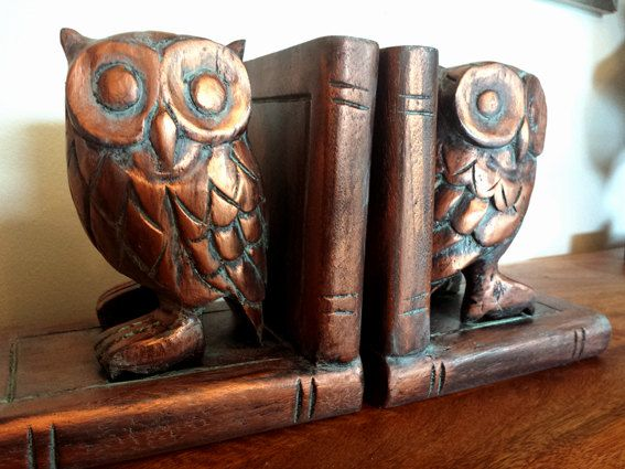 Harry Potter OWL Bookends Handmade and finished by WizardingWares