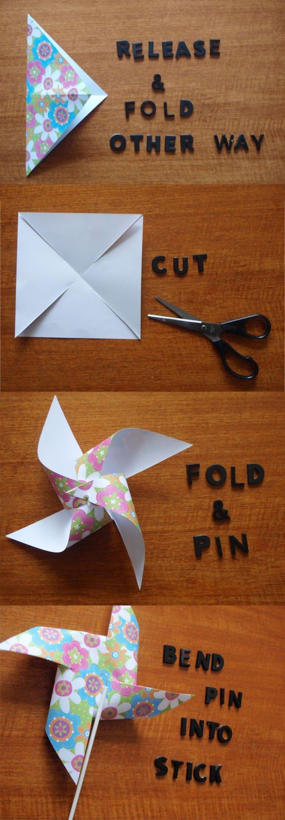 Dilly Foxtrot Investigates: NEW FEATURE.......DIY Party Decorations - Pinwheels