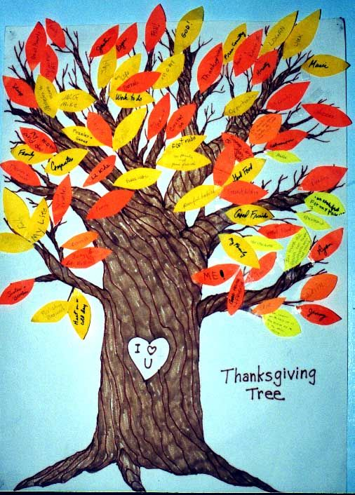 Thanksgiving: Thanksgiving Tree