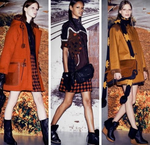 Stuart Vevers's Debut Collection for Coach Fall 2014 - Vogue Daily
