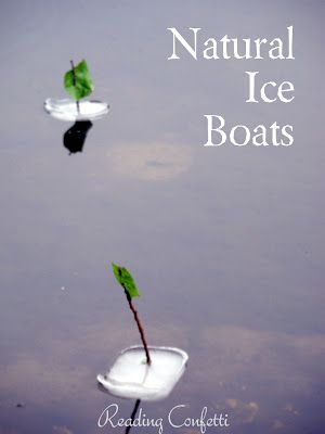 Ice boats you can float on anywhereActivities Boys, Kids Activities, Summer Activities, Ice Boats, Outdoor Plays, Reading Confetti, Fun, 50 Summer, Nature Ice