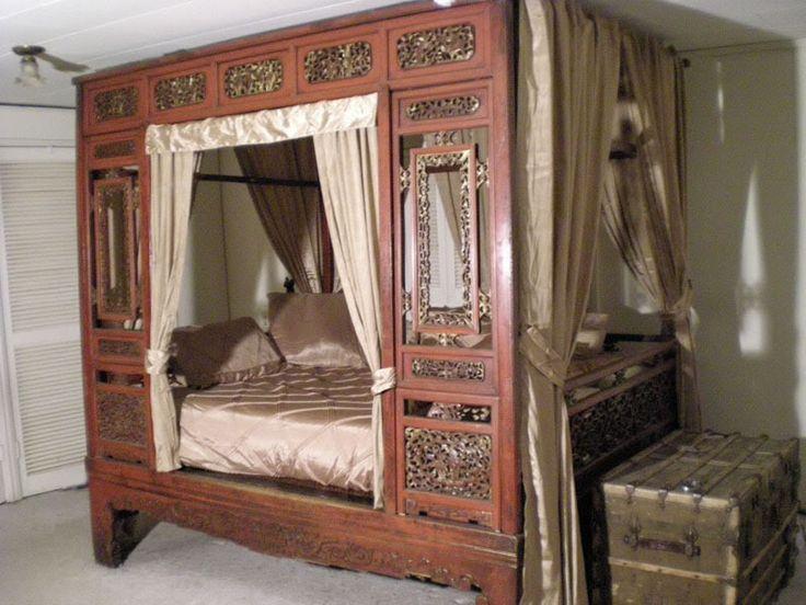 Antique Opium Bunk Bed