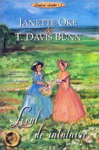 """Locul de întâlnire de Janette Oke și Davis Bunn - Între două tinere de naţionalităţi diferite, ale căror popoare se războiesc între ele, se leagă o prietenie strânsă, care le va propulsa într-o călătorie fără întoarcere... În anul 1753 frontierele erau clar trasate. Coloniştii francezi sosiseră primii în această regiune şi o numiseră Acadia, """"patrie mult iubită"""". Britanicii, sosiţi pe noul continent la…"""
