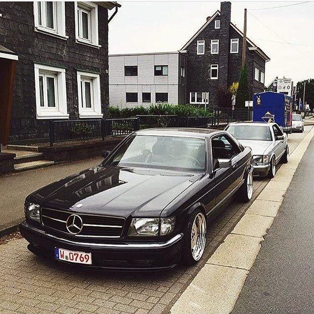Mersbenz54 Mb54 W126 Coupe X W124 Coupe Mersbenz54 Mbrussia