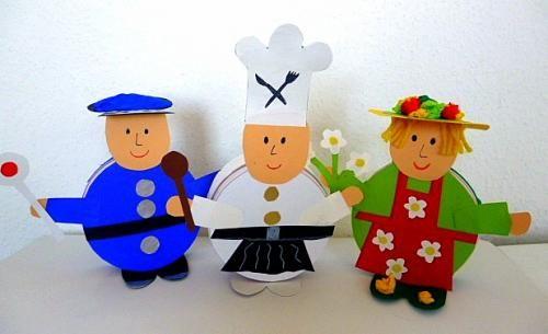 Polizist aus Dose - Muttertag-basteln - Meine Enkel und ich - Made with schwedesign.de