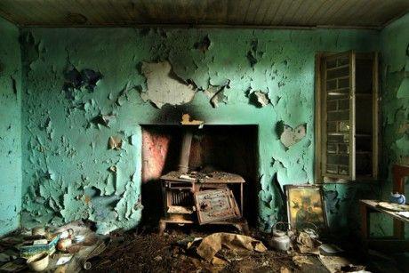 David Creedon photos - abandoned homes